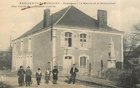 Saulces-Champenoises Monument au morts grande guerre