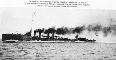 Contre torpilleur La Dague