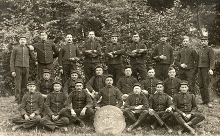 11e régiment d'artillerie 1910