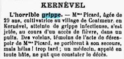 Picard Grippe 1918