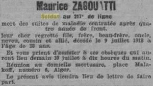 Zagouatti Maurice