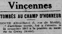 Houee Alfred Henri