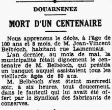 Belbéoch Jean Vincent