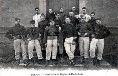 42e régiment d'infanterie Belfort